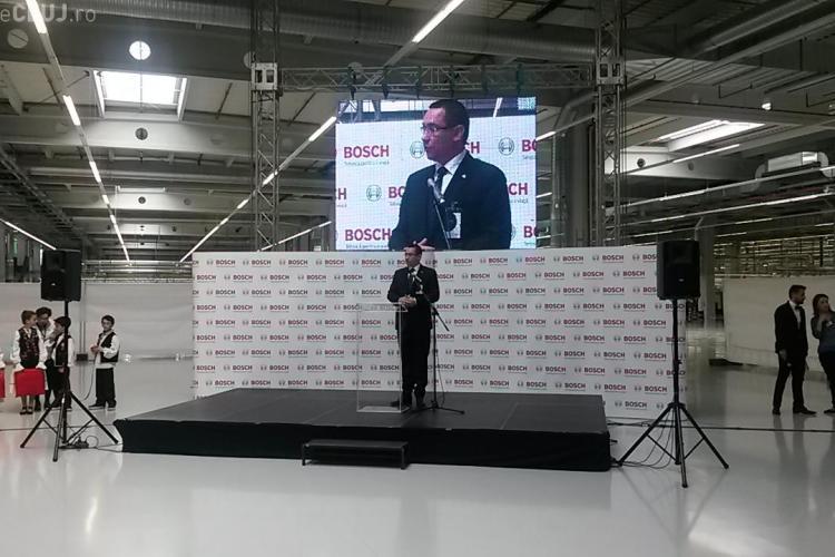Ajutor de 25 milioane de euro din partea statului pentru construirea fabricii Bosch, din parcul Tetarom de la Jucu - VIDEO