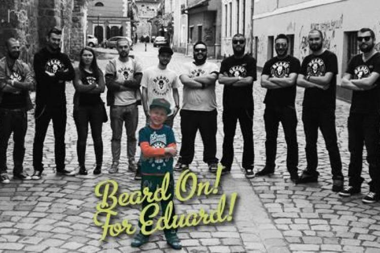 Clujenii de la Beard Brothers vă invită la un concert pentru ajutarea lui Eduard Tudurache
