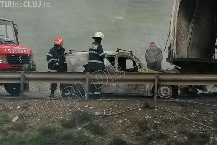 Cum s-a produs accidentul de pe centura Vâlcele - Apahida: Mărturie - FOTO