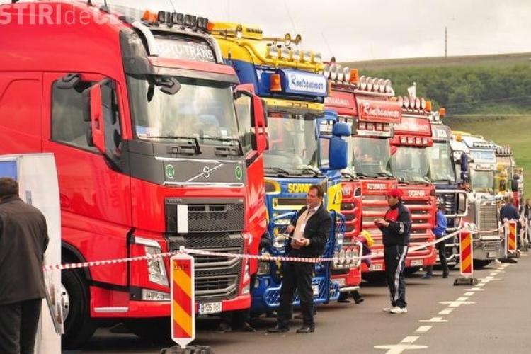 Cele mai tari camioane și motociclete vin la Cluj. Vezi când va avea loc Festivalul Internațional al Transportatorilor