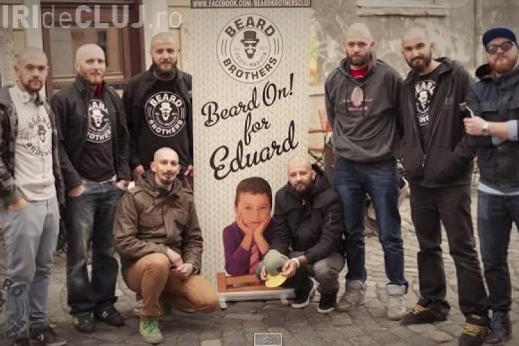 """""""Beard Brothers"""" organizează la Cluj un mini-festival caritabil pentru micuțul Eduard"""