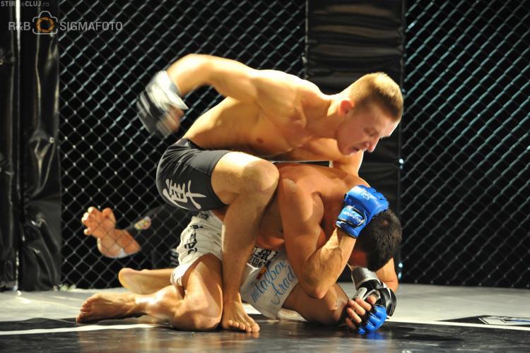 Clujeanul Ciprian Mariș, de la Clubul Sportiv MMA Transilvania, luptă în gala de la Linz (Austria)