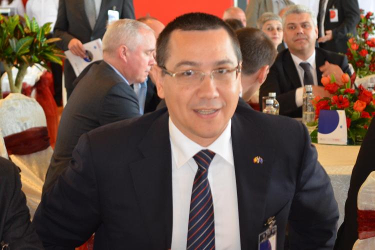 Victor Ponta a fost la Eurovision cu avionul lui Ion Țiriac