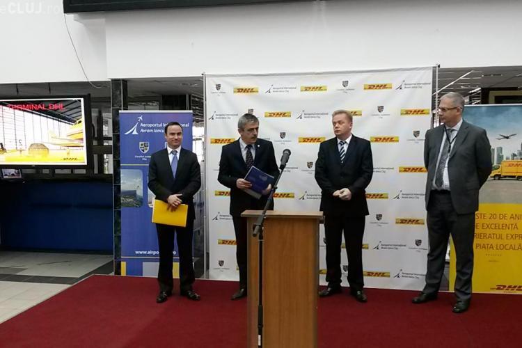 DHL a lansat un nou terminal cargo de la Aeroportul Internațional Cluj - VIDEO