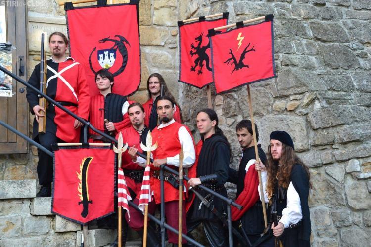 """Lupte medievale în Parcul Iuliu Hațieganu. Vezi când va avea loc """"Turnirul Campionilor!"""