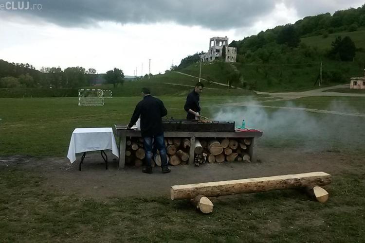 Boc a inspectat zona de picnic de pe Valea Gârbăului. Micii au fost pe grătar - FOTO și VIDEO