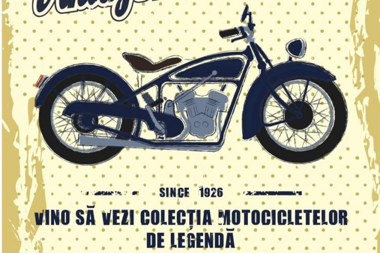 Motociclete Vintage prezentate la Iulius Mall Cluj - FOTO