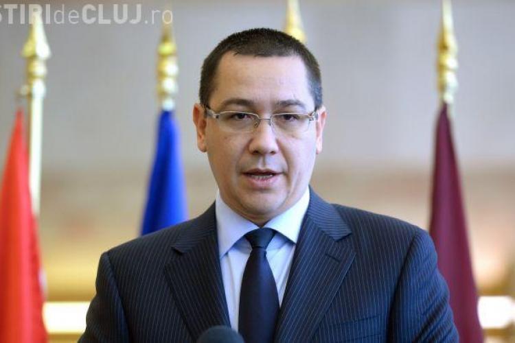 Ponta inaugurează la Dej Colegiul Andrei Mureșanu, renovat cu bani europeni