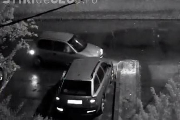 Ori era beat, ori a adormit la volan! Priviți ce face un șofer în Mărăști - VIDEO