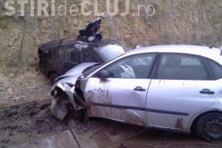 Accident pe Autostrada Transilvania. Un copil de 3 ani a fost rănit
