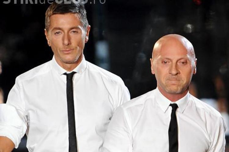Doi dintre cei mai cunoscuți designeri din lume, creatorii Dolce & Gabbana, au fost arestați