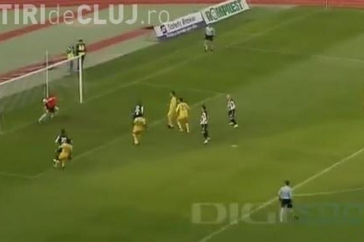 U Cluj - FC Vaslui 1-0 - REZUMAT VIDEO - Max Nicu înscrie și aduce 3 puncte
