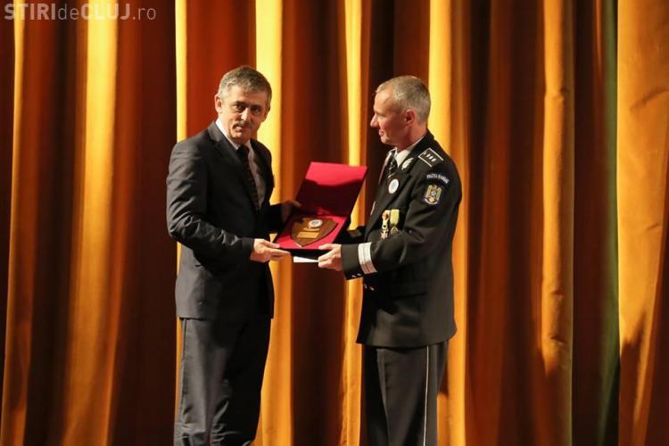 Uioreanu prezent la aniversarea a 10 ani de la înființarea Școlii de Poliție Cluj - FOTO