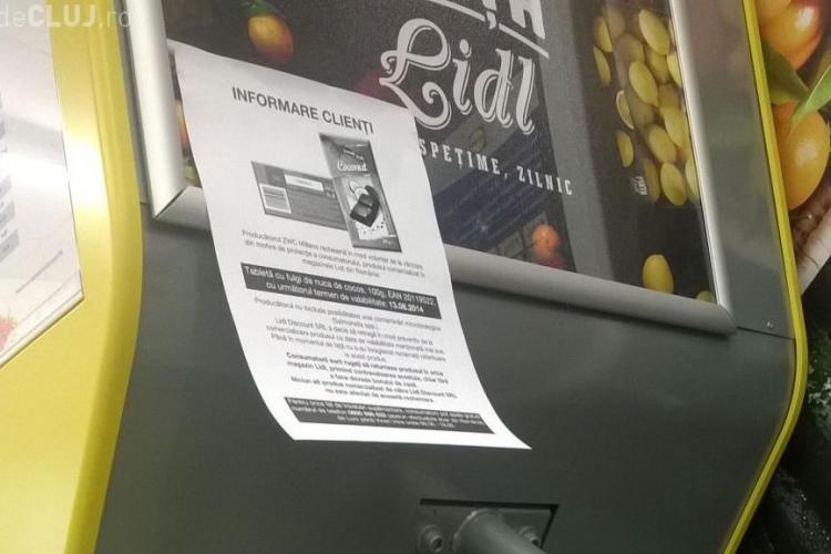 Produs suspect de Salmonella retras de Lidl Cluj. Clienții trebuie să-l returneze - FOTO