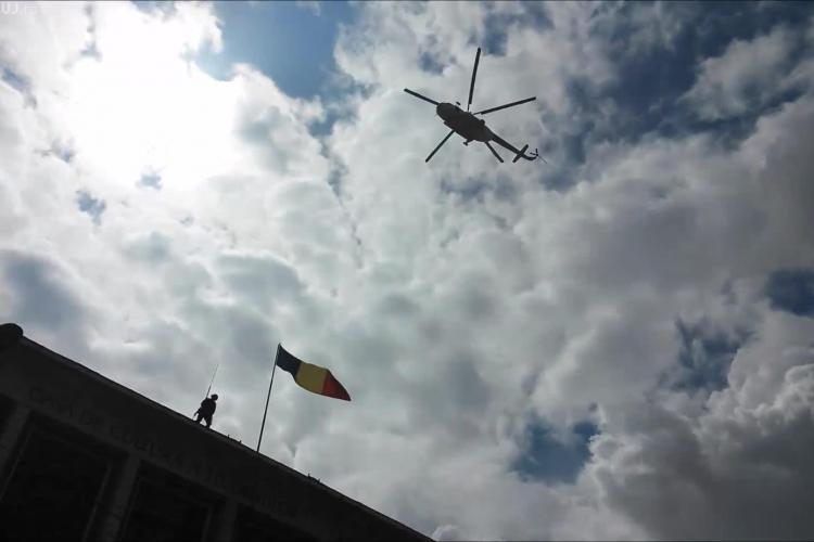 Premieră la Cluj: Traficul rutier va fi supravegheat din elicopter de 1 Mai