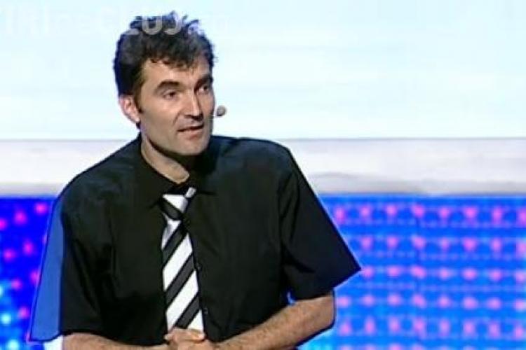 Românii au talent 2014. Leon Magdan a oferit un joc de lumini și umbre MINUNAT