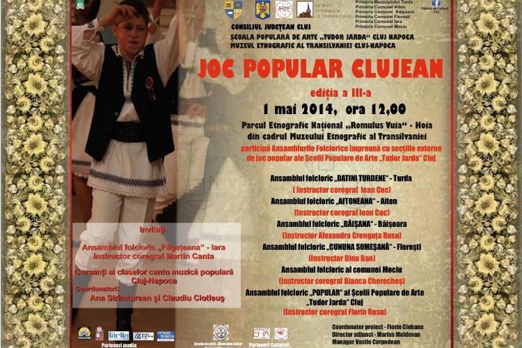 Serbare Câmpenească de 1 Mai la Parcul Etnografic din Cluj-Napoca