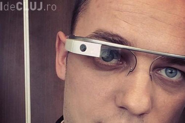 Sergiu Biriș, fondatorul Trilulilu, a testat deja Google Glass - FOTO