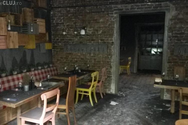 Cum arată restaurantul Livada în urma incendiului. Conducerea spune că localul este asigurat FOTO VIDEO