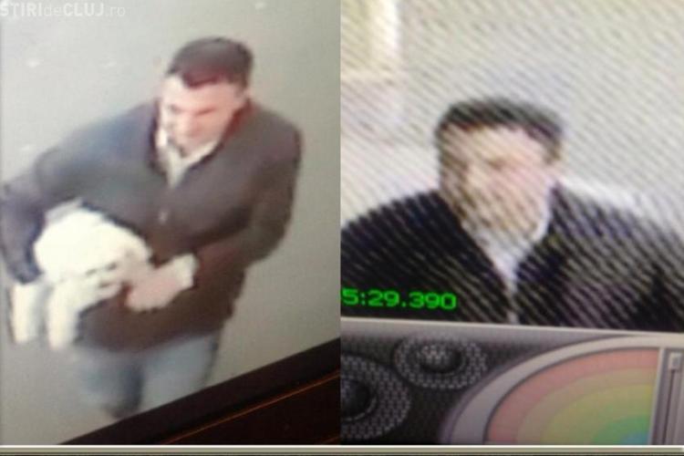 Acest bărbat a furat un câine din Gheorgheni! Îl recunoaște cineva? - VIDEO și FOTO
