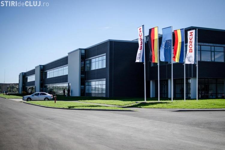 Ponta e așteptat la inaugurarea fabricii Bosch de la Jucu