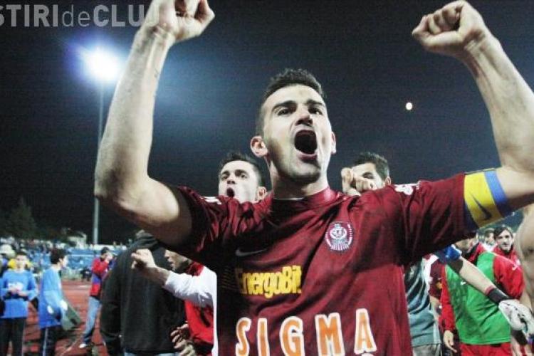 CFR Cluj - Chiajna 1-1 REZUMAT VIDEO -  Clujenii au numai o victorie acasă în 2014