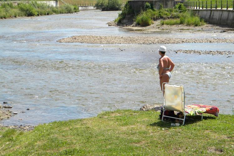 Campanie de Ecologizare pe Someşul Mic făcută de pescari