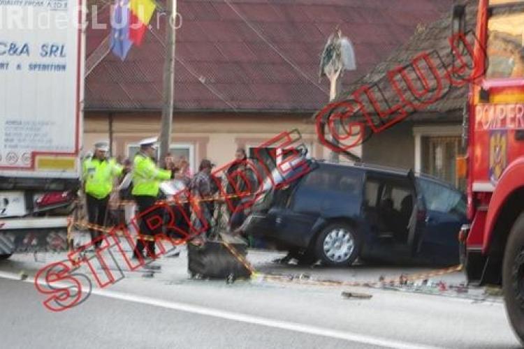 Accident la Iclod! O femeie a murit și alte 3 persoane au fost rănite. Ce s-a ÎNTÂMPLAT? - FOTO