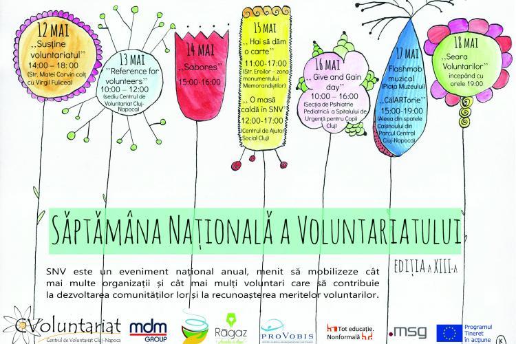 Săptămâna Voluntariatului la Cluj-Napoca. Vezi ce se va întâmpla în oraș săptămâna viitoare