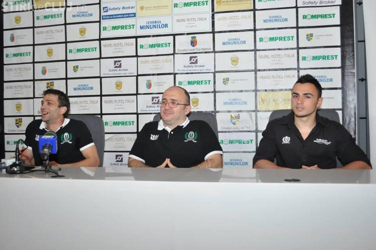 """""""U"""" Cluj vrea victorie la rugby în meciul cu Dinamo, derby-ul tuturor timpurilor - FOTO"""
