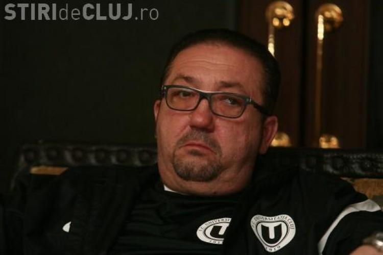 """Marca U Cluj e """"blindată"""". Walter o are pe perioadă determinată și nu poate muta echipa de la Cluj - VIDEO"""