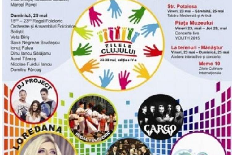 Zilele CLUJULUI 2014 - PROGRAM - Cine cântă în DESCHIDERE