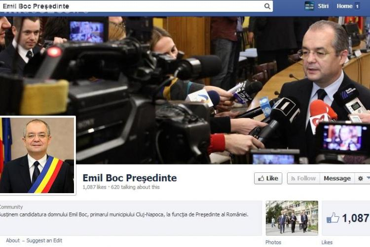 Emil Boc candidează la președinție. Cineva îi plătește reclamă pe Facebook - FOTO