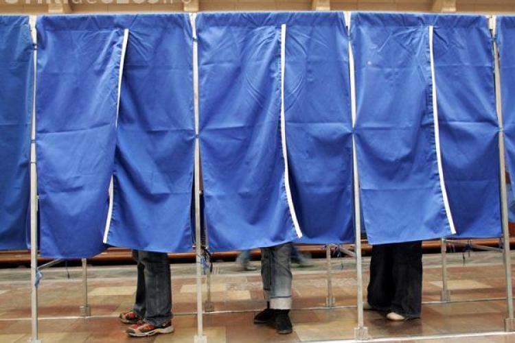 ALEGERI EUROPARLAMENTARE 2014: Prezența la vot până la ora 16.00 în județul Cluj