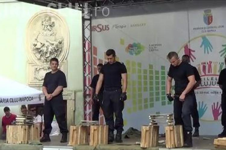 Demonstrații culinare și de Taekwando în Piața Muzeului FOTO-VIDEO
