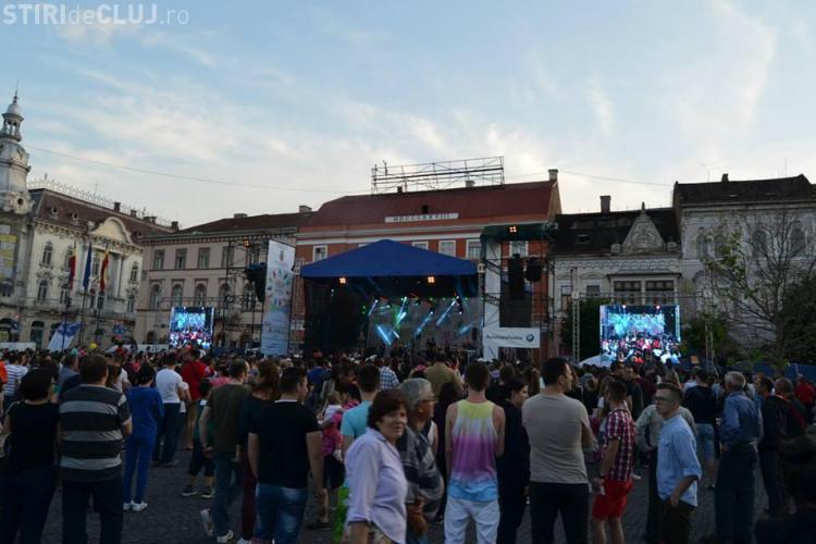ZILELE CLUJULUI 2014 - DUMINICĂ sunt concerte populare în Piața Unirii