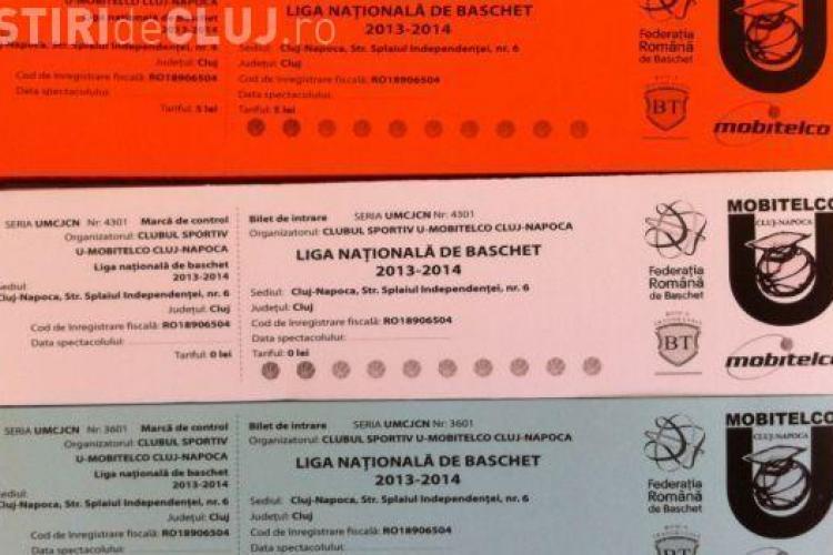 Bilete la meciurile U BT Mobitelco - CSU Ploiesti
