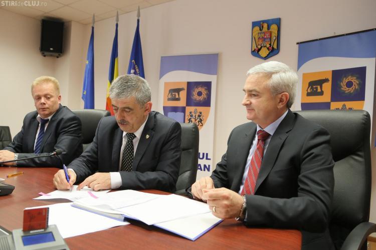 Uioreanu a semnat contractul de extindere a Parcului Industrial TETAROM  1 - FOTO