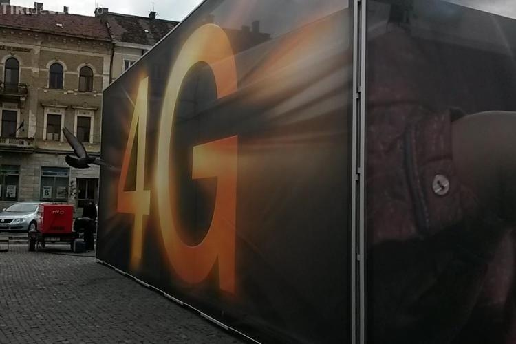 Caravana Orange în Piața Unirii, la Cluj: Puteți testa puterea 4G și dirija o orchestră interactivă - VIDEO (P)