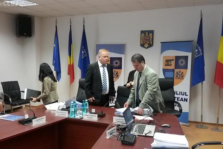 PNL și PDL încearcă la ora 13.00 să schimbe conducerea Consiliului Județean Cluj