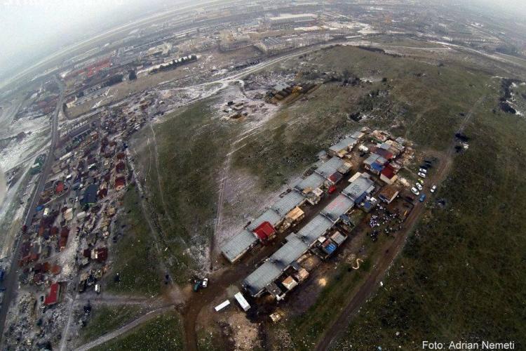 """Tribunalul Cluj: Mutarea romilor din """"inima"""" Clujului la Pata Rât s-a făcut """"când afară erau minus 10 grade Celsius"""""""