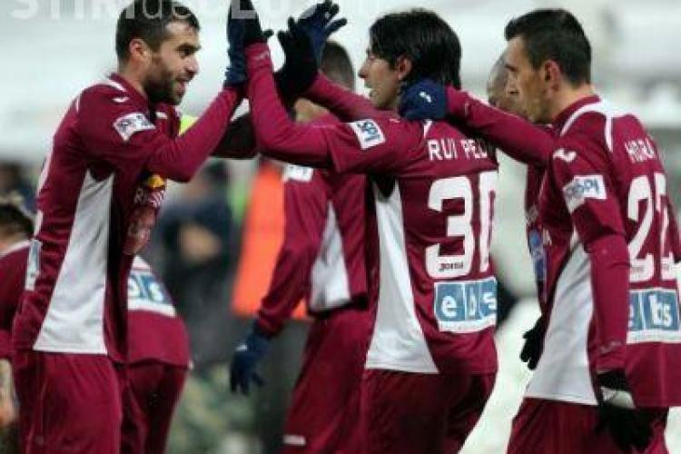 CFR Cluj a reușit a treia victorie consecutivă în meciul cu Gaz Metan Mediaș REZUMAT VIDEO