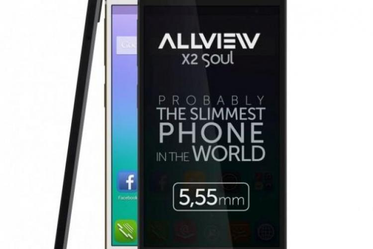 """Românii de la Allview au scos, """"probabil"""", cel mai subțire smartphone din lume. Vezi cum arată FOTO"""