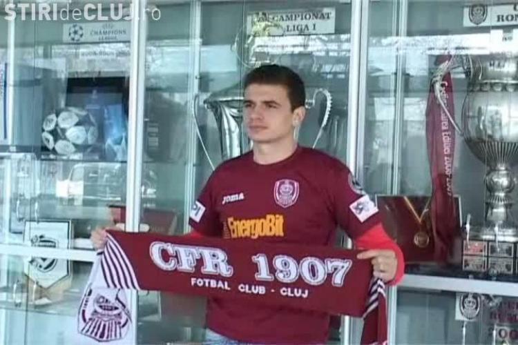 Liviu Ganea speră să rămână la CFR Cluj și să joace în Europa League
