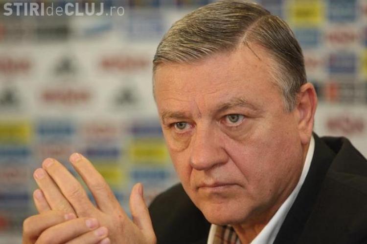 Declarație halucinantă a lui Mircea Sandu: Eu sunt președintele FRF