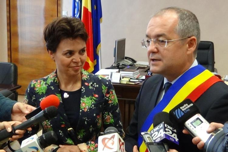 Boc i-a cerut șefului Reprezentanței Comisiei Europene în Romania bani pentru drumul Făgetului și Lomb - VIDEO