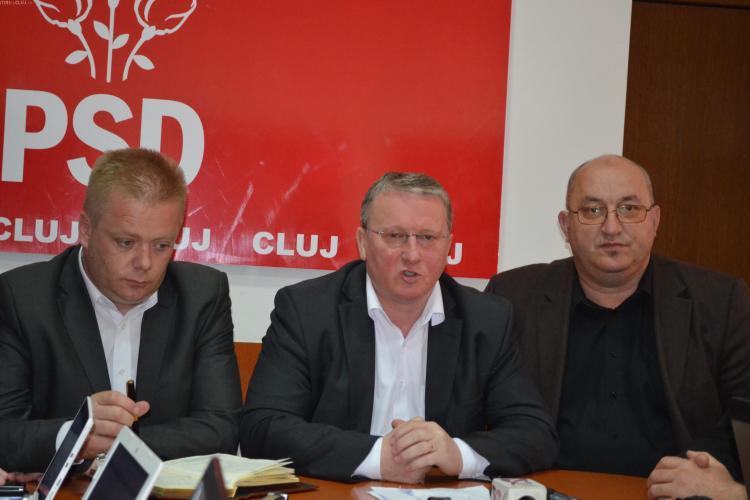 Lăpușan, președintele PSD Cluj: Domnul Uioreanu nu vrea ca domnul Seplecan să fie președinte interimar al CJ Cluj
