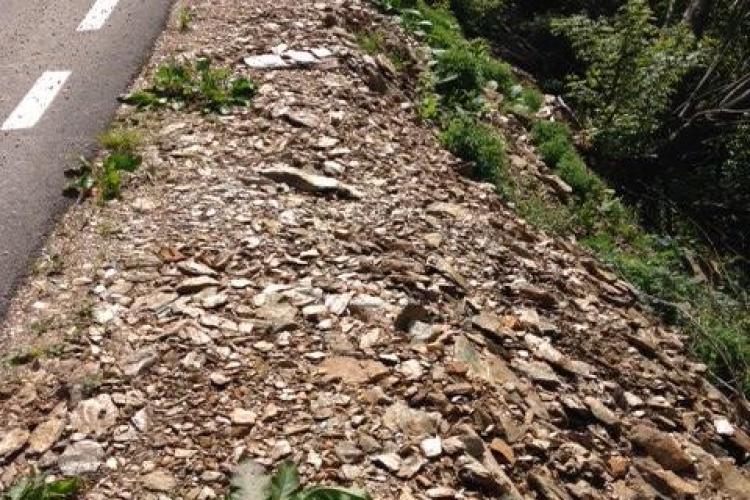 Surpări de teren în Cluj! Circulația e restricționată