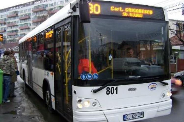 CTP modifică traseul liniei 30. Vezi cum va circula