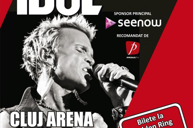 Reduceri speciale de Ziua Copilului pentru biletele la concertul Billy Idol din Cluj (P)